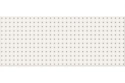 Opoczno Black&White Pattern A dekorcsempe 20x50 cm