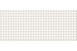 Opoczno Black&White Pattern B dekorcsempe 20x50 cm