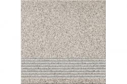 Opoczno Milton Grey Steptread lépcsőlap 29,7 x 29,7 cm