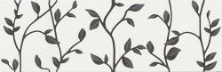 Opoczno Winter vine white inserto floral dekorcsempe 29x89 cm