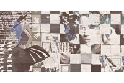 Opoczno Avangarde Inserto Modern dekorcsempe 29,7x60