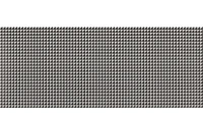 Opoczno Black&White Pattern F dekorcsempe 20x50 cm