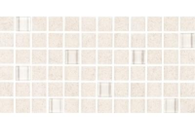 Opoczno Karoo Cream Glass Mosaic 14,7x29,7 cm üveg mozaik