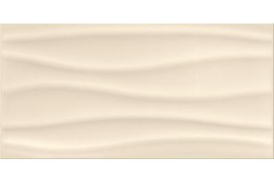 Opoczno Basic Palette Beige Glossy Wave dekorcsempe 29,7 x 60 cm