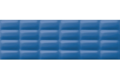 Opoczno Vivid Colours Blue Glossy Pillow falicsempe 25x75 cm
