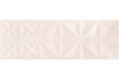 Opoczno Geometric Game Cloud Beige Glossy Squares falicsempe 25x75 cm