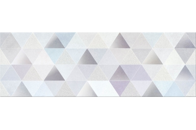 Opoczno Geometric Game Inserto Geo dekorcsempe 25x75 cm