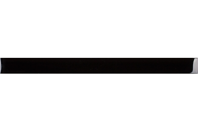 Opoczno Basic Palette Glass Black Border üveg dekorcsík 4,8 x 60 cm