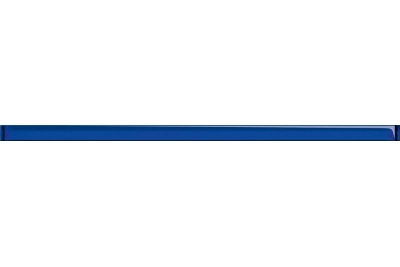 Opoczno Elegant Stripes Glass Cobalt Border üveg dekorcsík 3x75 cm