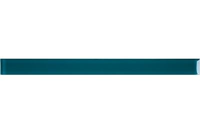 Opoczno Basic Palette Glass Turquoise Border üveg dekorcsík 4,8 x 60 cm