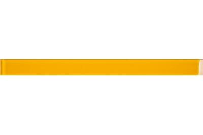 Opoczno Basic Palette Glass Yellow Border üveg dekorcsík 4,8 x 60 cm