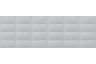 Opoczno Vivid Colours Grey Glossy Pillow falicsempe 25x75 cm