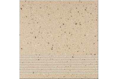 Opoczno Hyperion H4 Beige Steptread lépcsőlap 29,7 x 29,7 cm