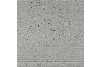 Opoczno Hyperion H9 Grey Steptread lépcsőlap 29,7 x 29,7 cm