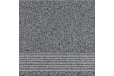 Opoczno Kallisto K10 Graphite Steptread lépcsőlap 29,7 x 29,7 cm
