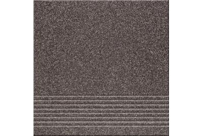Opoczno Kallisto K11 Black Steptread lépcsőlap 29,7 x 29,7 cm