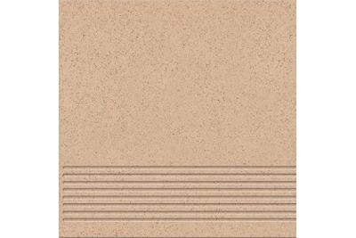 Opoczno Kallisto K4 Beige Steptread lépcsőlap 29,7 x 29,7 cm