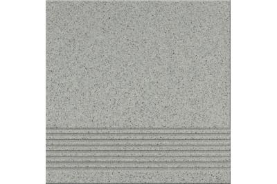 Opoczno Kallisto K9 Grey Steptread lépcsőlap 29,7 x 29,7 cm