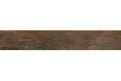 Opoczno Legno Rustico Brown rektifikált fahatású padlólap 14,7 x 89,5 cm