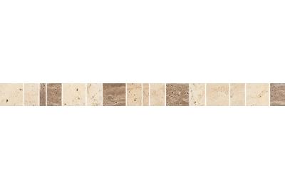 Opoczno Light Marble Beige Stone Border dekorcsík 4,8 x 59,3 cm