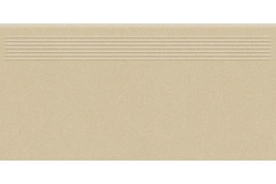 Opoczno Moondust Cream Steptread rektifikált lépcsőlap 29,55 x 59,4 cm