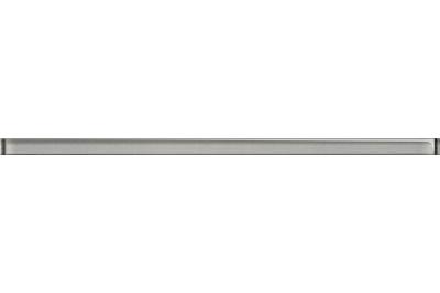 Opoczno Glass Silver Border New üveg dekorcsík 1,5x40 cm