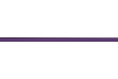 Opoczno Glass Violet Border New üveg dekorcsík 1,5x40 cm