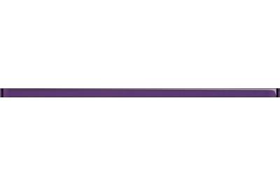 Opoczno Glass Violet Border New üveg dekorcsík 2x59,3 cm