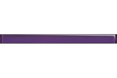 Opoczno Glass Violet Border New üveg dekorcsík 4,8x60 cm