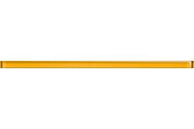 Opoczno Glass Yellow Border New üveg dekorcsík 1,5x40 cm