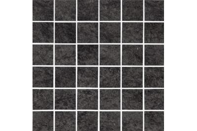 Opoczno Karoo Graphite Mosaic 29,7x29,7 cm mozaik