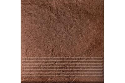 Opoczno Solar Brown Steptread 3d lépcsőlap 30 x 30 cm