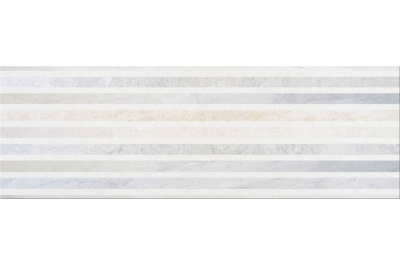 Opoczno Stone Flowers Inserto Geo dekorcsempe 25x75 cm