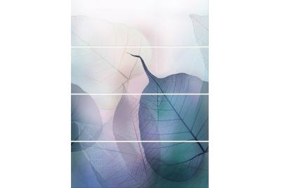 Opoczno Vivid Colours Composition 4 részes dekorcsempe 100x75 cm