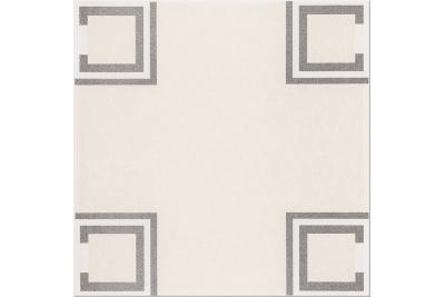 Opoczno Basic Palette White Pattern B padlódekor 29,7 x 29,7 cm